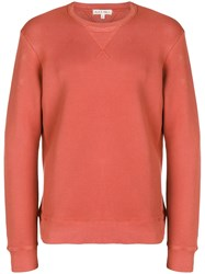Alex Mill Crewneck Sweatshirt Yellow And Orange