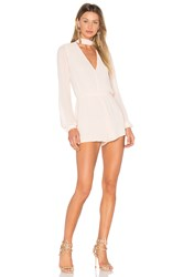 Lovers Friends X Revolve Taylor Romper Pink
