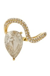 Ariella Collection Curve Stone Ring