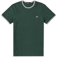 Fred Perry Twin Tipped Tee Neutrals