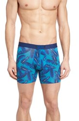 Saxx Men's 'Vibe' Stretch Boxer Briefs Ocean Vintage Palm