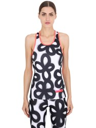 Adidas By Stella Sport Printed Recycled Microfiber Tank Top