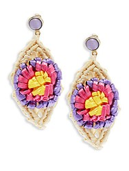 Red Valentino Multicolored Dangle And Drop Earrings