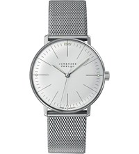 Junghans 027 3004.44 Max Bill Stainless Steel Watch Silver
