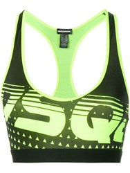 Dsquared2 Logo Sports Top Green