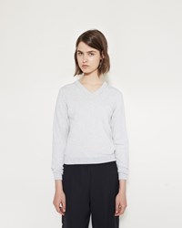 Maison Martin Margiela Elbow Patch Sweater Grey Melange