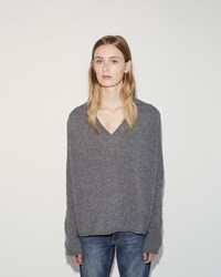 Hope Scale Sweater Mid Grey Melange