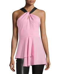 Novis The Kirby Layered Halter Top Pink