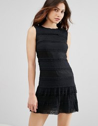 Jovonna Sunday Bliss Lace Dress Black
