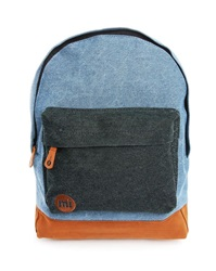 Mi Pac Premium Palm Denim Backpack