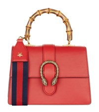 Gucci Small Dionysus Bamboo Top Handle Bag Female Red
