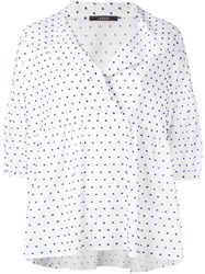 Odeeh Polka Dot Blouse White