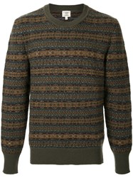Kent And Curwen Pattern Knit Jumper Multicolour