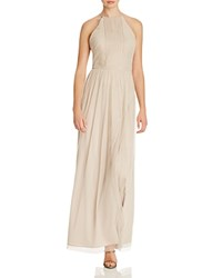 Js Collections Pintucked Gown Champagne