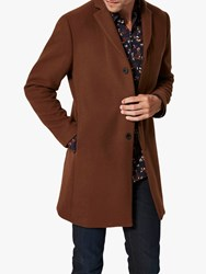 Selected Homme Wool Coat Brown