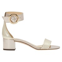 Jimmy Choo Jaimie 40 Sandals Gold Mix
