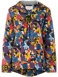La Doublej All Over Print Hoodie Modal Multicolour