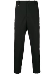 Oamc Tailored Fitted Trousers Black