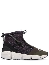 Nike Air Footscape Utility Mid Top Sneakers Black Green