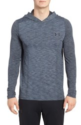 Under Armour Men's Threadbone Fitted Seamless Hoodie Graphite Black