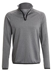 Your Turn Active Long Sleeved Top Dark Grey Melange Mottled Dark Grey