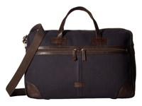 Scully Cambria Duffel Brown Navy Duffel Bags