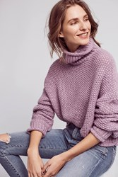 Moth Abella Turtleneck Jumper Purple