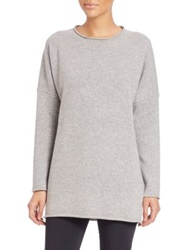 Pauw Wool And Cashmere Knit Tunic Light Grey