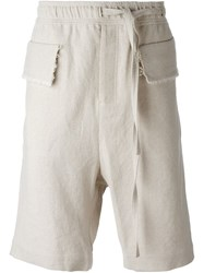 Damir Doma 'Poline' Shorts Nude And Neutrals