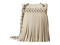 Mandf Western Fringe Crossbody Ivory Cross Body Handbags White