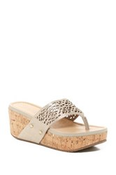 Kenneth Cole Reaction Fan Tastic Wedge Sandal Yellow