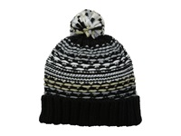Echo Float Stitch Pom Hat Black Cold Weather Hats