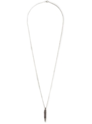 Henson 'Barb' Necklace Metallic