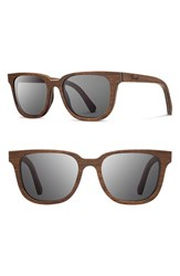 Shwood Men's 'Prescott' 53Mm Wood Sunglasses