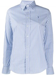 Polo Ralph Lauren Striped Slim Fit Shirt Blue