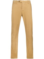 Al Duca D'aosta 1902 Straight Leg Trousers Nude And Neutrals
