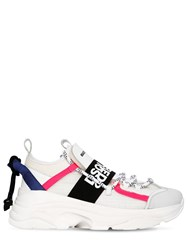 Dsquared 40Mm The Bumpy One Neoprene Sneakers White