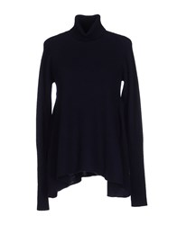 Peuterey Knitwear Turtlenecks Women Dark Blue