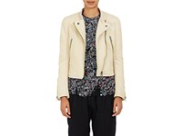 Haider Ackermann Women's Leather Moto Jacket Tan