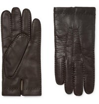 Dents Shaftesbury Touchscreen Cashmere Lined Leather Gloves Brown