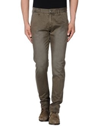 Individual Casual Pants Military Green