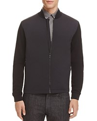 Z Zegna Techmerino Fleece Jacket Black