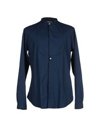 Icon Shirts Shirts Men Dark Blue