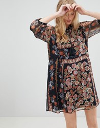 D.Ra Tracey Floral Printshift Dress Russian Doll Multi