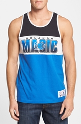 Mitchell And Ness 'Orlando Magic Home Stand' Tank Top Blue Black
