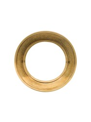 Marni Curved Ring Brooch Gold