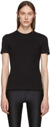 Alyx Black Ribbed T Shirt