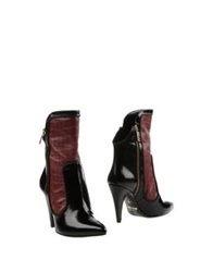 Just Cavalli Ankle Boots Blue