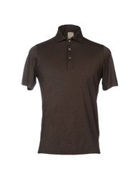 H953 Polo Shirts Brown