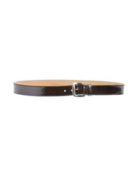 Giordano Frangipani Belts Dark Brown